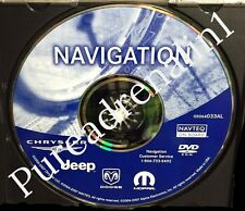 2014 UPDATE 2007 JEEP COMMANDER LIMITED OVERLAND PACIFICA NAVIGATION CD DVD DISC