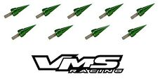 VMS RACING GREEN SPIKE HEADER CUP BOLT WASHER KIT FOR HONDA ACURA BOLTS B18 B16