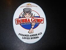 PYRAMID Bubba Gump Shrimp Amber Ale STICKER decal craft beer brewery brewing