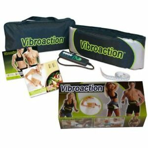 VIBROACTION© Electric Vibrating Slimming Massager Health Fitness Fat Burner Belt