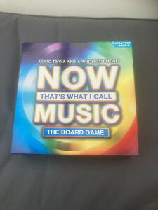Now That's What I Call Music Board Game Opened Used Excellent Condition