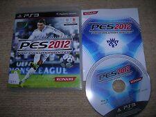 PRO EVOLUTION SOCCER 2012 - Rare Sony PS3 Game