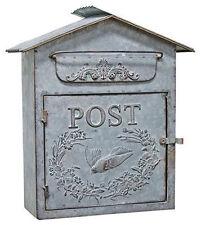 Wedding Card Holder Wedding Gift Galvanized Metal Mailbox Vintage Chic Mail box