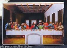 "The Last Supper by Leonardo da Vinci 2"" X 3"" Fridge / Locker Magnet."