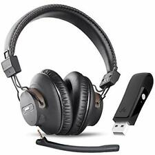 Avantree DG59(M) Plug & Play Wireless Headphones Set, PC, Laptop, Computer, 40Hr