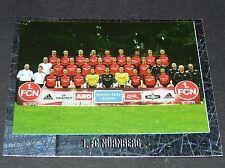 415 MANNSCHAFT FC NÜRNBERG PANINI FUSSBALL 2005-2006 BUNDESLIGA FOOTBALL