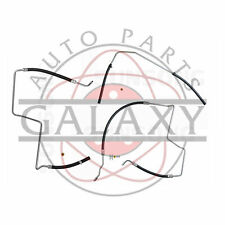 Power Steering 3Pc Return & Pressure Line Hose Assemblies for Envoy Trailblazer