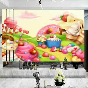 Bread Grass Hill 3D Full Wall Mural Photo Wallpaper Printing Home Kids Decor