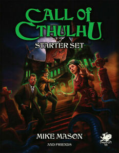 Call of Cthulhu RPG 7th Edition Starter Set