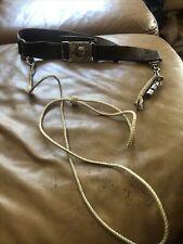 More details for bin vintage old leather girl guides belt john leckie walsall