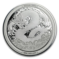 2017 New Zealand 1 oz Silver $1 Taniwha Proof Coin