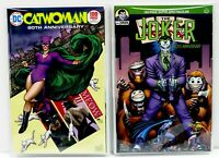 CATWOMAN & JOKER 80TH ANNIVERSARY 100-PAGE DC Set OF 2 Variants ADAMS CHO RICH