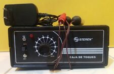 ELECTRIC SHOCK MACHINE BOX ASSEMBLED WITH AC ADAPTOR CAJA DE TOQUES STRESS PARTY