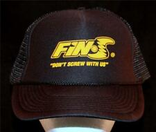 MEN'S FIN-S Fins Don't Screw With Us Surfboard Surf Logo Hat Watersports Cap USA
