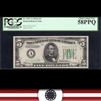 1934-A $5 BOSTON FRN PCGS 58 PPQ Fr 1957-A   11118-DH