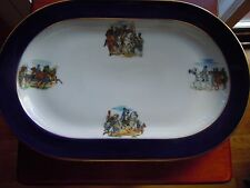 Vintage H & Co Heinrich Hand Painted Platter  Selb, Bavaria  Western Germany