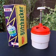 More details for vtg retro zylyss swiss rotating blitzhacker rostfrei food chopper original box