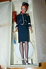 2005 The Stewardess Silkstone Barbie Fashion Model-Gold Label-New in Box