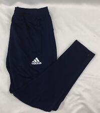 Adidas YOUTH TIR017 Climacool Soccer Sweat Pants Navy Blue BQ2726 Size L