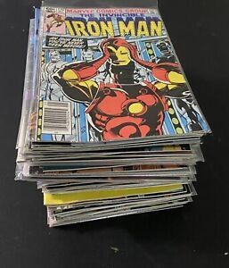 Collection 73 Comic Books Key Iron Man 170 1st Appearance James Rhodes Iron Man