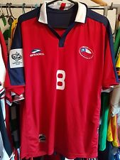 Chile Football Shirt Pizarro 8 World Cup 2006 Qualifiers Large