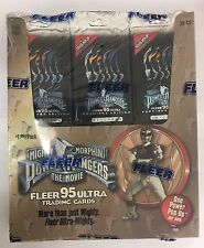 1995 Fleer Ultra Power Rangers the Movie Trading Card Box Factory Sealed