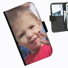 Top Quality Custom Phone Case Any Text Or Picture On A Leather Wallet Case