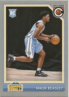 Malik Beasley Panini Complete Silver RC Rookie 2016/17 NBA Basketball Card #223