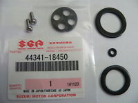 NEW Suzuki Fuel Tap Valve Seal Repair Kit GT250 T250 T350 T500 Stainless Screws