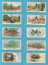 CYCLING  -  JOHN  PLAYER  &  SONS  -  SET  OF  50  CYCLING  CARDS  -  1939
