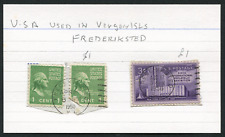 VIRGIN ISLANDS (22785): USA, Frederiksted postmark/cancels