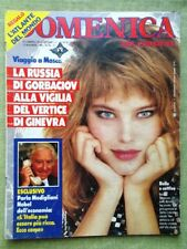 La Domenica del Corriere 16 Novembre 1985 Russia Baudo Ricciarelli Modigliani Tv