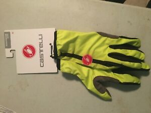 CASTELLI SCUDO GLOVES  MENS SMALL