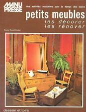 Petits Meubles // Les décorer, les rénover   ///  NANCY HOWEL-KOELER