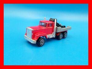 MAJORETTE n. 297 Camion truck peterbilt gru