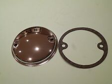 TRIUMPH T90 T100 T120 T140 POINTS COVER CHROME & GASKET 70-8737 71-1462 UK MADE