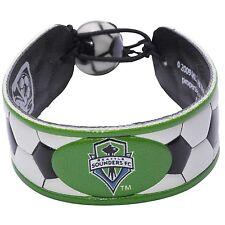 Seattle Sounders FC Soccer Bracelet Genuine Ball Material OSFM New MLS