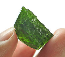 20.7Ct Natural Russian Chrome Green Diopside Facet Rough Specimen YDS1853