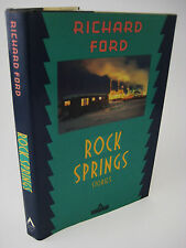 1st/2nd Printing ROCK SPRINGS Richard Ford STORIES Pulitzer Prize RARE