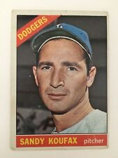 1966 TOPPS SANDY KOUFAX #100 Fair LA Dodgers HOF