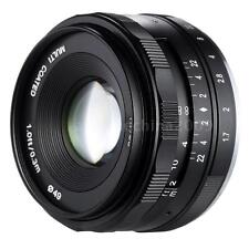 MEIKE 35mm f/1.7 Large Aperture Manual Focus APS-C Camera Lens for SONY E Mount