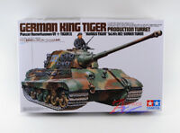 Tamiya Model 35164 1/35 German King Tiger II Tank Production Turret Panzer VI
