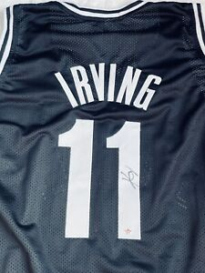 Kyrie Irving Signed Autographed Brooklyn Nets Jersey with COA