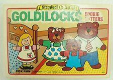 VINTAGE ASTORYBOOK COLLECTION GOLDILOCKS COOKIE CUTTERS  IN ORIGINAL BOX