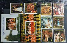 1977 GUINEA EQUATORIALE ANNIVERSARIO INCORONAZIONE ELISABETTA II USATI RF03