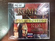 "PC DVD-ROM ""Rome total War. Gold Edition (2 в 1)"" BRAND NEW- NEVER OPENED"