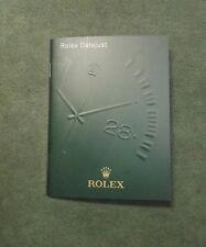 BOOKLET ROLEX DATE JUST ANNO 2011 ITA