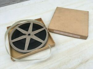 """16mm Vintage Cine Film """"The Rise & Fall of Hitlers Germany"""" in box."""