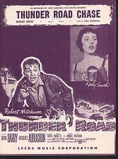 Thunder Road Chase 1958 Thunder Road Robert Mitchum Keely Smith Sheet Music