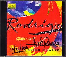 Artur PIZARRO Signed RODRIGO Evocaciones Estampas Andaluzas Berceuses COLLINS CD